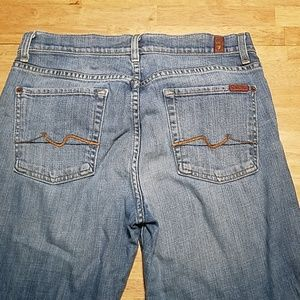 7 For All Mankind Boot Jean's Size 31x32